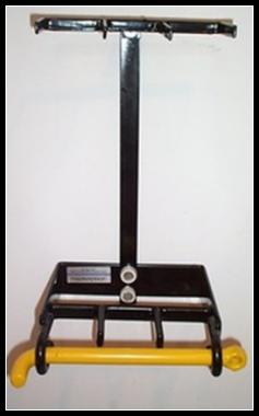 vertical wall mount gun rack