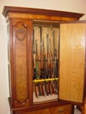 gun display rack