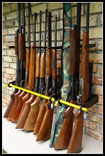 police gun racks - shotgun rack