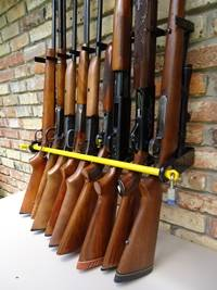 police gun rack for 9