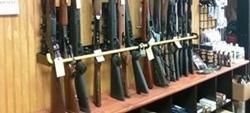 gun store gun racks