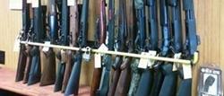 gun racks for gun stores