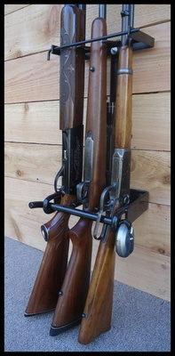 3 Gun Locking Rifle Rack
