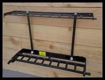 Locking 9 Gun -  Shotgun & Rifle Rack Made of Steel