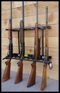 9 Gun - Locking Vertical Wall Mount Gun Rack